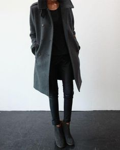 2014 Fall Fashion: Black & Grey for fall! - Hubub