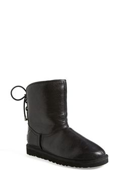 UGG® Australia 'Mariana' Water Resistant Short Boot (Women) available at #Nordstrom