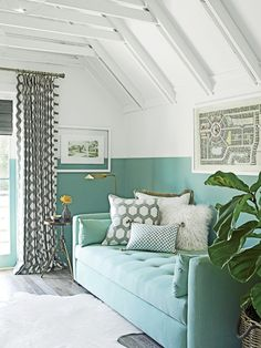 House of Turquoise: Coastal Living 2015 Seagrove Idea Cottage