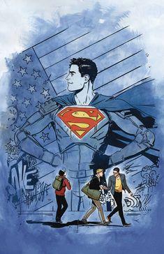 Superman: American Alien Variant Cover Art #6