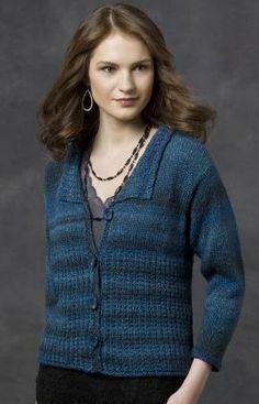 Kimberly Cardi Knitting Pattern