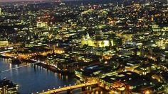 Aufnahme vom The Shard bei Nacht