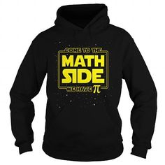 Pi Day Come to the Math Side We Have Pi LIMITED TIME ONLY. ORDER NOW if you like, Item Not Sold Anywhere Else. Amazing for you or gift for your family members and your friends. You'd sure look nice in one of our shirts! Pi Day Shirts, Mothers Day Shirts, Hoodies, Sweatshirts, Funny Tshirts, How To Look Better, Student Council, Math, Tees