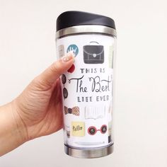 Best Life Ever Stainless Steel Travel Mug Pioneer by SeasonedWSalt                                                                                                                                                                                 More