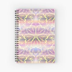 Teenage Girl Gifts Christmas, Birthday Gifts For Girls, Spiral Notebooks, Stationery Design, Gifts For Teens, Drawing, Mandala Design, Decoration, Illustration