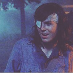 That smile! even in Carl's last moments!