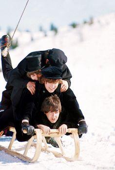 The Beatles of Help! 1965.