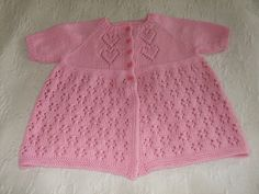 Free Pattern: Hugs and Kisses Cardigan by Vera Sanon