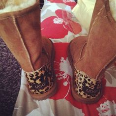 Leopard Uggs. Christmas present!!,cheap ugg online store, OMGEE have to get this winter