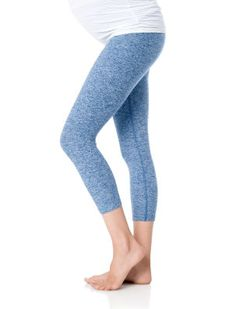 Beyond the Bump By Beyond Yoga A Pea in the Pod Maternity Crop Leggings