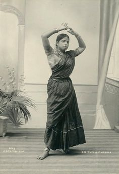 Devadasi and Nautch photos Studio portrait of a dancing girl, Madras, portrait of a dancing girl, Madras, Vintage India, Belle Epoque, Canadian Culture, Indian Aesthetic, Indian Classical Dance, History Of India, Old World Charm, Girl Dancing, Studio Portraits