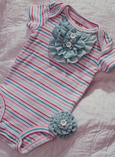 Something Pretty: Embellished Onesie...