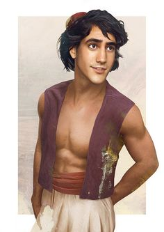 23 Realistic Drawings of Disney Princes and Princesses that Will Bring Your Childhood to Life!