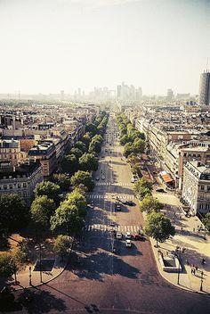 Avenue de la Grande Armée   by Cormac Phelan