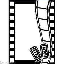 Pochoir d'embossage Thème de FILM movie gaufrage scrapbooking, cuttlebug, sizzix