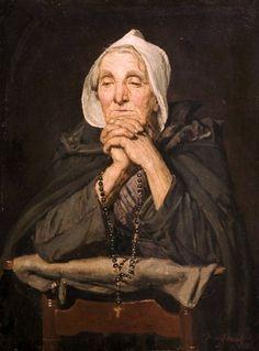 Israëls, Jozef (b,1824)- Prayer