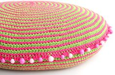 Spiral Cushion By Matt Farci - Free Crochet Pattern - (ravelry)