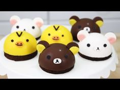How to Make Rilakkuma Cake. How to Make Rilakkuma Cake. If you love Rilakkuma and ever wanted to make a kawaii cake, then this tutorial is for you! Sweet Recipes, Cake Recipes, Dessert Recipes, Mini Desserts, Cookie Desserts, Food Cakes, Cupcakes, Cupcake Cakes, Rilakkuma Cake