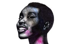 Grin | Personal illustration | Portfolio of Roxanne Silverwood