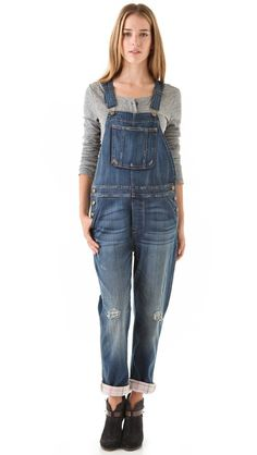 Current/Elliott The Overalls The fact that the only size available is a 23 proves that I need these