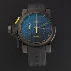 Graham Chronofighter Trigger Flyback Automatic // 2TRAB.B11.AK43N // Store Display