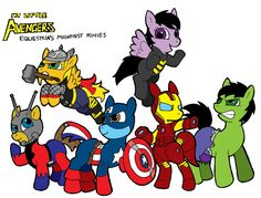 Avengers and My Little Pony