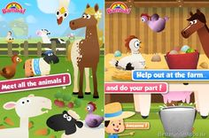 Bamba Farm App für Kinder iPad iPhone