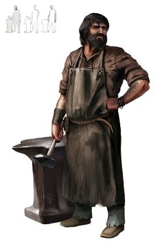 Blacksmith Eloi Molas