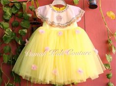 Cute Baby Dresses, Little Girl Pageant Dresses, Baby Girl Party Dresses, Dresses Kids Girl, Kids Outfits, Indian Dresses For Kids, Fancy Dress For Kids, Long Frocks For Kids, Frocks For Girls