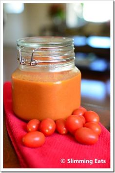 Roasted garlic and tomato Pasta sauce; 2syns for the entire jar!