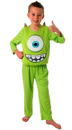 Mike Monsters University Kids Costume - DLX