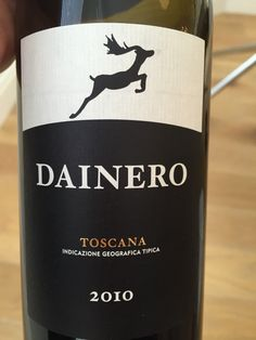 Castiglion del Bosco Dainero 2010, Montalcino, Tuscany. 90% Merlot, rest is Sangiovese. Past it (drunk May 2015).