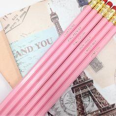 Today's stationary - thanks to @biancagugliotta for the super cute pencils ✏️ @misspoppydesign #misspoppydesign