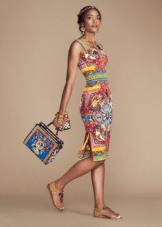 Яркие наряды в итальянском фольклорном стиле в новой коллекции Dolce&Gabbana весна-лето 2016 - Ярмарка Мастеров - ручная работа, handmade