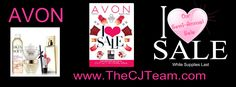 "Avon Campaign 6, 2017. Shop Avon's semi-annual sale, the ""I Love Sale"", to find all of your favorites. Shop Avon Campaign 6, 2017 online February 15, 2017 through March 1, 2017 Online. Sell Avon Online @ www.cjteam.us. Shop Avon Online @www.TheCJTeam.com"