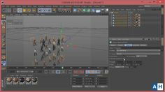 CINEMA 4D TUTORIAL - Creating Crowd Simulation by Ahmed El-Hofy. Firstly, Sorry for my bad English :(