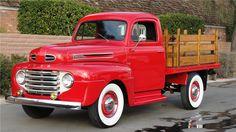 ford trucks old 1950 Ford Pickup, Pickup Car, Classic Pickup Trucks, Car Ford, Auto Ford, Ford 4x4, Old Ford Trucks, Old Pickup Trucks, Lifted Trucks