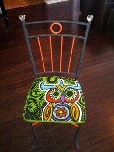 Cadeiras de cara nova - pintura