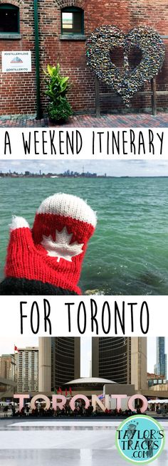 Plan your weekend trip to Toronto, Canada with this itinerary, recommended things to do and tips for the city! Travel in North America. Weekend Trips, Day Trips, Weekend Getaways, Travel Advice, Travel Tips, Travel Hacks, Time Travel, Travel Ideas, Toronto Travel