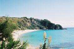 Spiaggia Di Grotticelle, Capo Vaticano. Calabria, Italy.