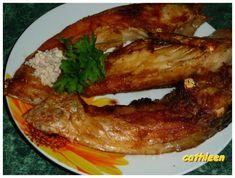 Kapr na grilu s křenem Bacon, Pork, Meat, Chicken, Breakfast, Kale Stir Fry, Morning Coffee, Pigs, Pork Chops