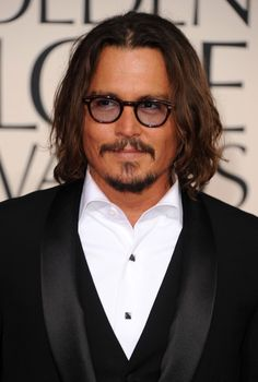 Johnny Depp - 68th Annual Golden Globe Awards - Arrivals