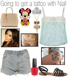 """""""Going to get a tattoo with Niall"""" by onedoutfits269 ❤ liked on Polyvore"""