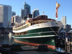 Sydney Ferries, Maritime Museum, British Isles, Sailing Ships, Ss, Jackson, Around The Worlds, Yard, Boat