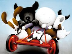 Hold On Tight from Doug Hyde available now from Evergreen Art Cafe talk to us today about our Free Delivery and Finance options on 01327 878117 Cute Images, Pretty Pictures, Art Pictures, Art Cafe, Limited Edition Prints, Hyde, Contemporary Paintings, Evergreen, Hold On