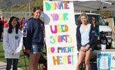 www.SportsGift.org - donates athletic equipment to disadvantaged kids around the world.