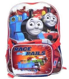 Thomas the train backpack with James Percy Detachable Insulated Lunch bag Thomas & Friends. $24.99