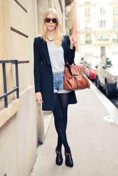 Studded heels.