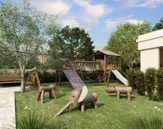 Love the animals - Playground by EZTEC - Construindo Qualidade de Vida, via Flickr