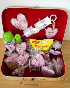 Hochzeitsgeschenk: Ehe-Notfall-Koffer